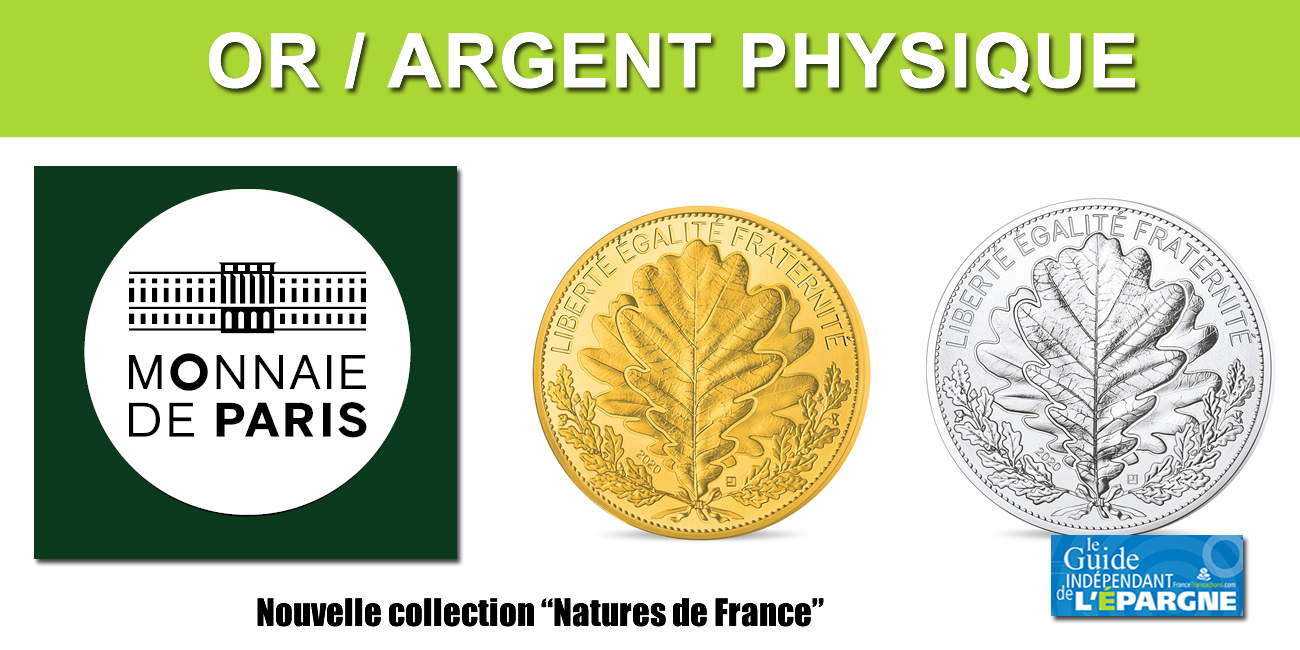 Or et Argent : nouvelle collection Monnaie de Paris, Natures de France